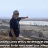 Dode Zee droogt op, badplaatsen zijn verlaten